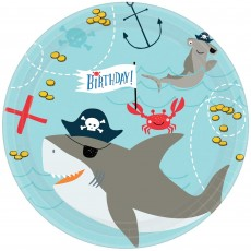 Ahoy Paper Lunch Plates