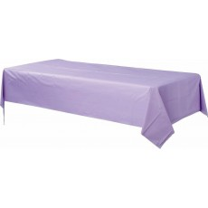 Lavender Plastic Table Cover