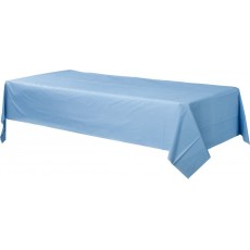 Blue Pastel  Plastic Table Cover