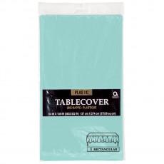 Blue Robin's Egg  Plastic Table Cover