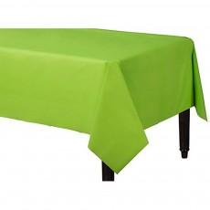 Kiwi Green Plastic Table Cover 1.37m x 2.74m