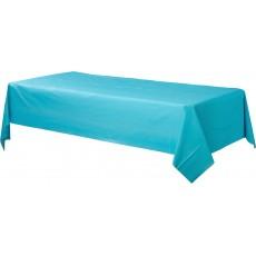 Blue Caribbean  Plastic Table Cover