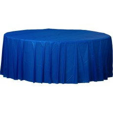 Blue Royal  Plastic Table Cover