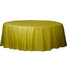Gold Sparkle  Plastic Table Cover
