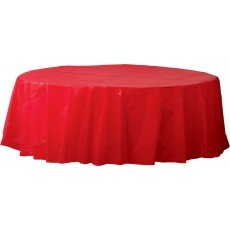 Red Apple  Plastic Table Cover