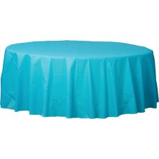 Blue Caribbean  Plastic Table Cover
