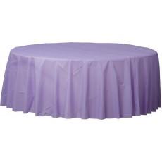 Lavender Hydrangea  Plastic Table Cover