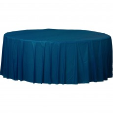Blue Navy Flag  Plastic Table Cover