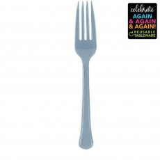 Silver Party Supplies - Forks Premium Extra Heavy Weight Silver