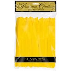 Yellow Sunshine Premium Heavy Weight Knives