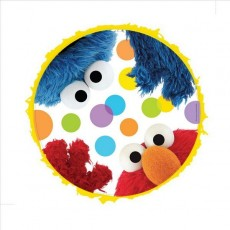 Sesame Street Drum Pull Pinata