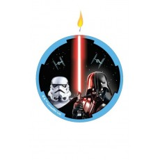 Star Wars Party Supplies - Candle Classic Flat