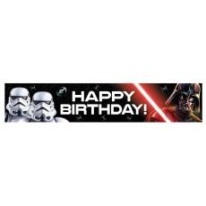 Star Wars Party Supplies - Plastic Banner