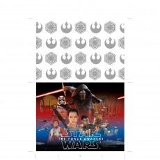 Star Wars Episode 7 Plastic Table Cover
