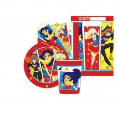 Super Hero Girls Party Supplies - Party Packs