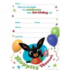 Bing Bunny Invitations