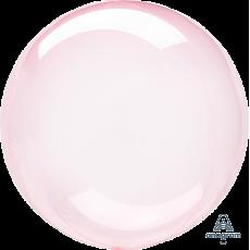 Pink Dark Crystal Clearz Shaped Balloon
