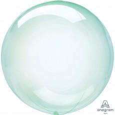 Green Crystal Clearz Shaped Balloon