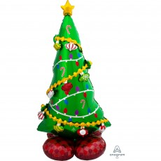 Christmas CI: AirLoonz  Tree Foil Balloon
