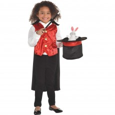 Magic Party Supplies - Child Costume Magician Kit