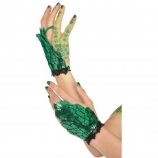 Fairytale Dragon Scales Glovettes Costume Accessorie