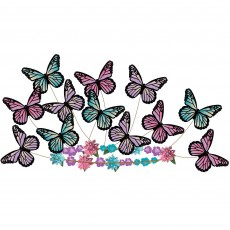 Fairytale Party Supplies - Butterfly Fantasy Headwreath