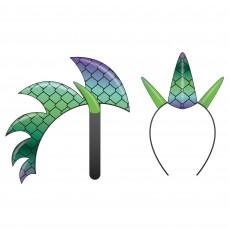 Fairytale Dragon Spikes Headband Head Accessorie