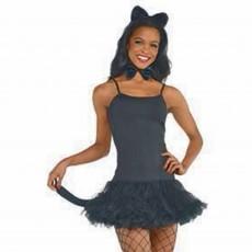 Ears & Tails Black Cat Accessory Set Costume Accessorie