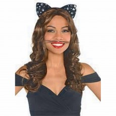 Black Party Supplies - Animal Whiskers