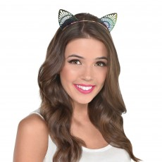 Ears & Tails Party Supplies - Cat Ears Filigree Headband