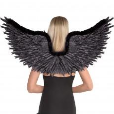Fairytale Dark Angel Wings Costume Accessorie