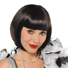 Great 1920's Flapper Wig Head Accessorie