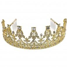 Gold Party Supplies - Tiara Royal Queen Crown