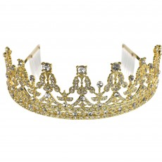 Gold Royal Queen Crown Tiara