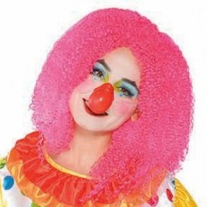 Big Top Clown Squeaky Red Nose Head Accessorie