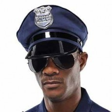 Careers Party Supplies - Police Mirror Sunglassess