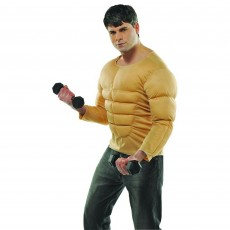 Sports Muscle Shirt Adult Costume