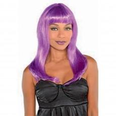 Gods & Goddesses Purple Electra Purple Wig i Head Accessorie