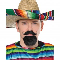 Fiesta Facial Hair Set Head Accessorie