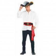 Pirate White Shirt Men Costume