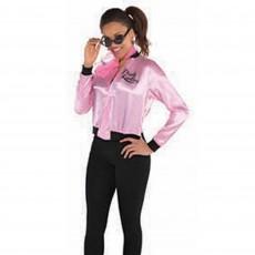 Rock n Roll Pink Ladies Jacket Adult Costume Adult Standard Size
