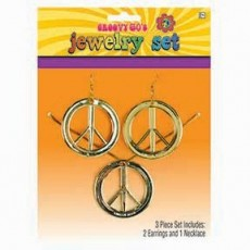 Feeling Groovy & 60's Party Supplies - Peace Set