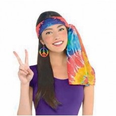 Feeling Groovy & 60's Party Supplies - Hippie Headscarf