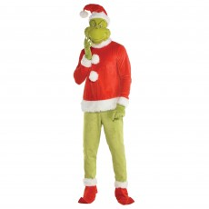 Dr Seuss The Grinch Mens Costume Adult Costume