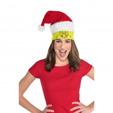 Christmas Party Supplies - The Grinch Santa Hat