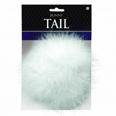 Ears & Tails Party Supplies - White Bunny Tail