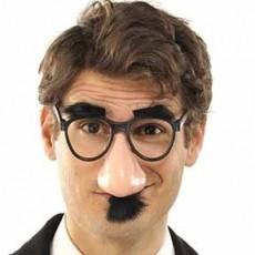 Big Top Clown Funny Glasses Head Accessorie