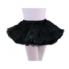 Black Full Petticoat Child Costume