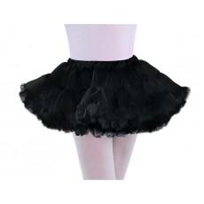 Full Black Petticoat Child Costume M/L Child Size