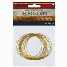 Gods & Goddesses Party Supplies - Bangle Bracelets